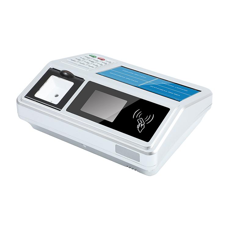 白色台式7寸安卓收款机